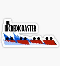 The Incredicoaster Sticker