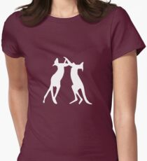 Fighting Roos Womens Fitted T-Shirt