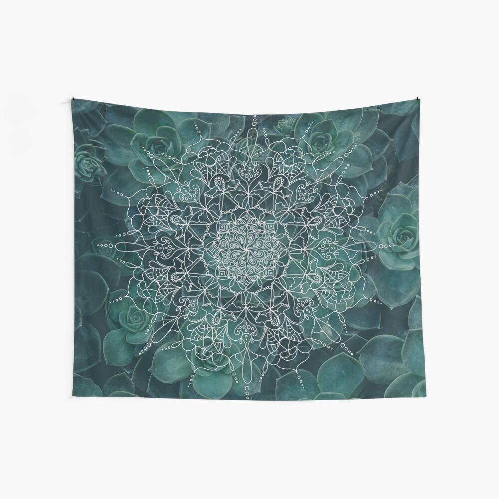 Saftiges Mandala Wandbehang
