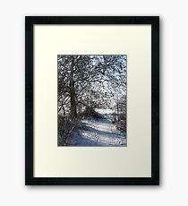 Snow Scene 1 Framed Print