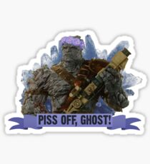 Piss Off, Ghost! Sticker