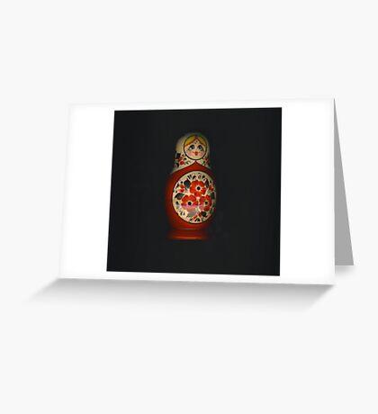 Matrioshka Greeting Card