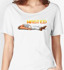 wasted pixel art Women's Relaxed Fit T-Shirt