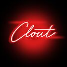 Neon Clout - RED - ROUGE - BLOODS - CLOUT CHASER by Wave Lords United