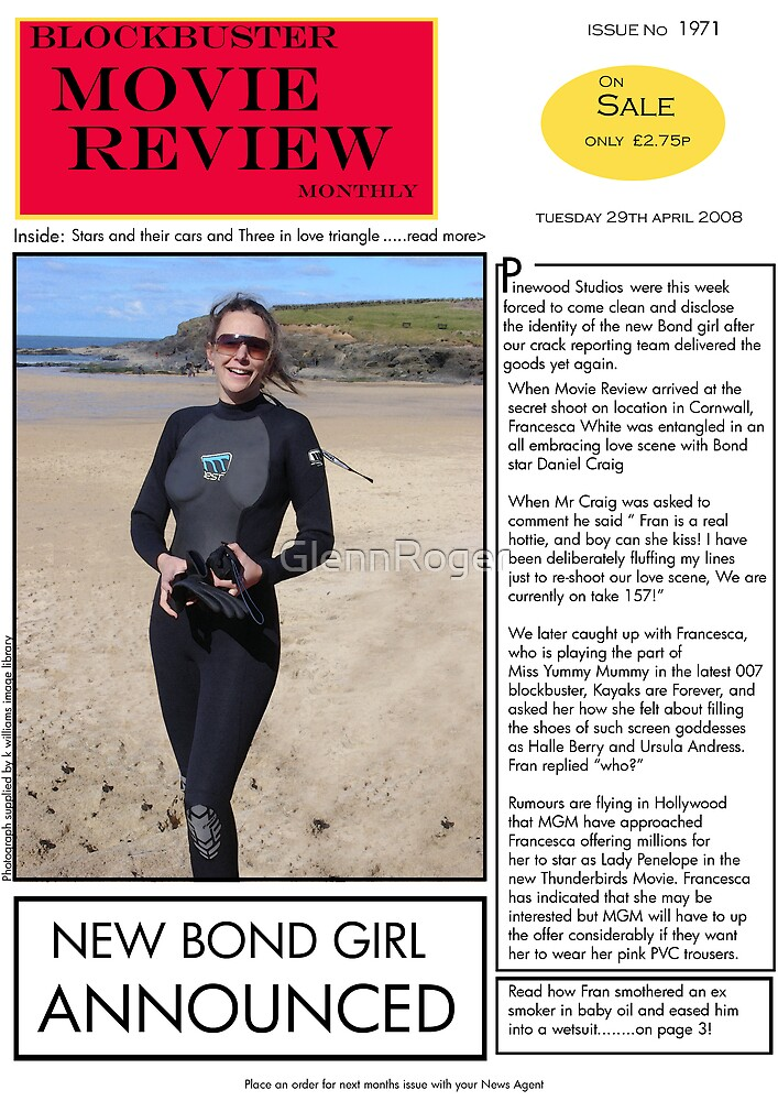 New Bond Girl by GlennRoger