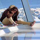 Winter Art Student by Kathleen Brant