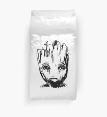 Groot of the galaxy Duvet Cover