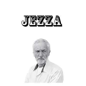 Jezza Jeremy Corbyn tshirt by codenoir
