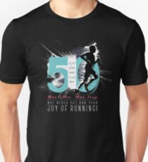Running Birthday T Shirts