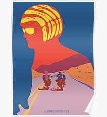 Easy Rider Psychedelic Movie Poster Poster