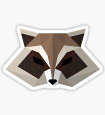 Vector Raccoon Sticker