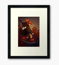 Reaper Girl Framed Print