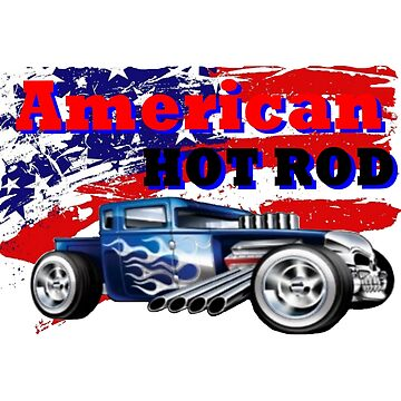 America hot rod by marcosprimar