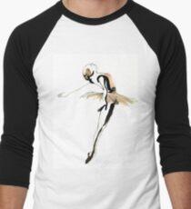 Ballet Dance Drawing Baseball ¾ Sleeve T-Shirt