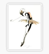 Ballet Dance Drawing Transparent Sticker