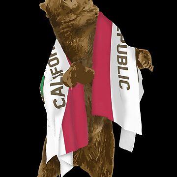 California Bear Dark by nathancowle