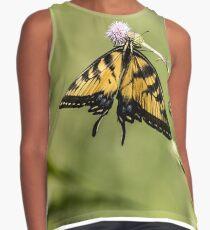 Eastern Tiger Swallowtail Butterfly Contrast Tank