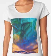 Love buzz - abstract dreamy colors Women's Premium T-Shirt