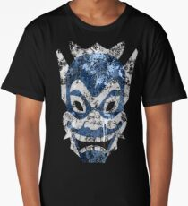 Blue Spirit Splatter Long T-Shirt