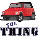 VW 181 Thing Kuebelwagen Trekker Acapulco Top Up Red Type by Frank Schuster