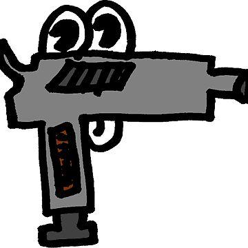 GUN OF COLOUR by spook-city