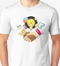T-Shirt Partnership Breaks Prejudice Unisex T-Shirt