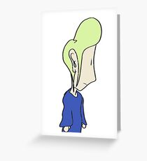 Mellow-Lemming! Greeting Card