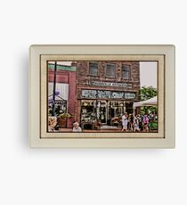 """""""Burrville Antiques"""" ... with a matted and framed presentation, for prints and products Canvas Print"""