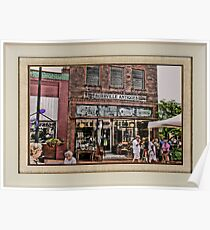 """""""Burrville Antiques"""" ... with a matted and framed presentation, for prints and products Poster"""