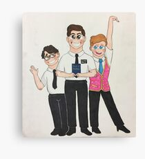 Book of Mormon Smiling Boys  Canvas Print