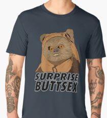 Ewok Suprise Buttsex Men's Premium T-Shirt
