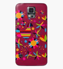 Funda/vinilo para Samsung Galaxy Mexican Multicolor
