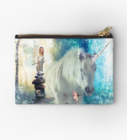Grumpy Fairy with Unicorn Studio Pouch