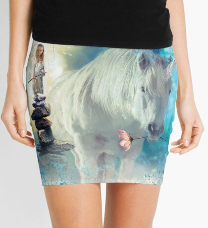 Grumpy Fairy with Unicorn Mini Skirt