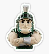 michigan state university sparty Sticker