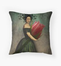 Mona's rose Throw Pillow