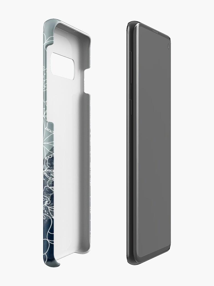 Alternative Ansicht von Berg Mandala Hülle & Klebefolie für Samsung Galaxy