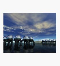 Fuel Depot Photographic Print
