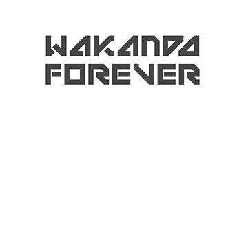 Wakanda Forever by zorpzorp