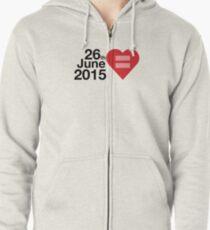Date of Equal Love Zipped Hoodie