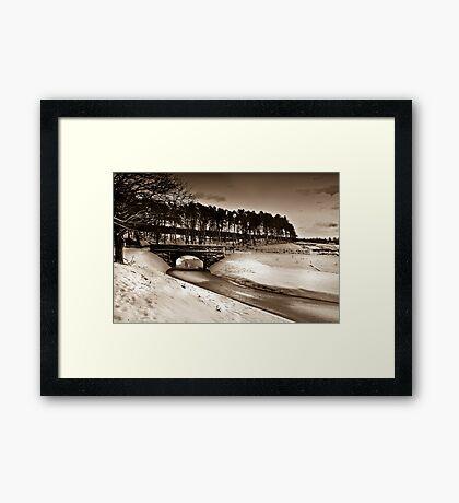 The Bridge II Framed Print