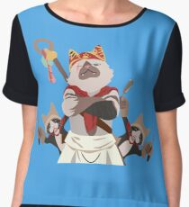 Meowscular Chef and his crew Chiffon Top