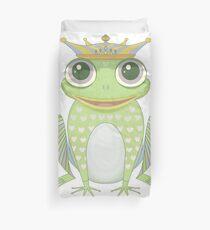 Frog Prince Duvet Cover