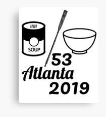 Soup Oar Bowl 53 Atlanta 2019 Canvas Print
