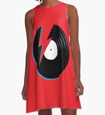Ziggy Stardust Record A-Line Dress