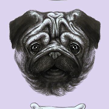 A Pug's Life by uwanlibner
