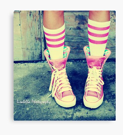 sneakers-n-socks Canvas Print