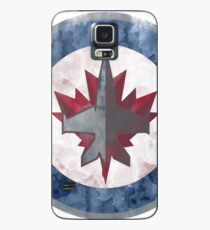 jets watercolor Case/Skin for Samsung Galaxy