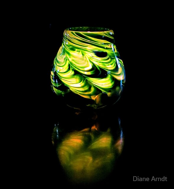 Reflections In Green by Diane Arndt