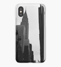 NYC Streetscape - Chrysler Building iPhone Case